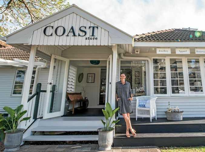 NOW OPENING: Emilia Johnston opens Coast Store at Cotton Tree tomorrow, November 3, 2016.