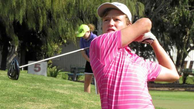 DEFENCE: Jed Morgan will look to go back-to-back at this Sunday's Ian Baker-Finch Junior Classic.