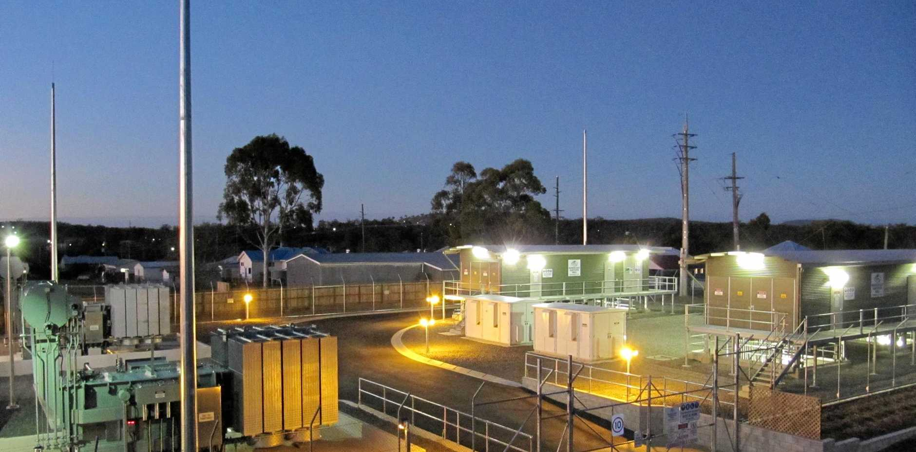 MODERN SITE: The upgraded east Warwick power substation has been completed.