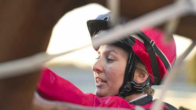 Toowoomba apprentice Rebecca Williams successful at Eagle Farm on Tuesday.