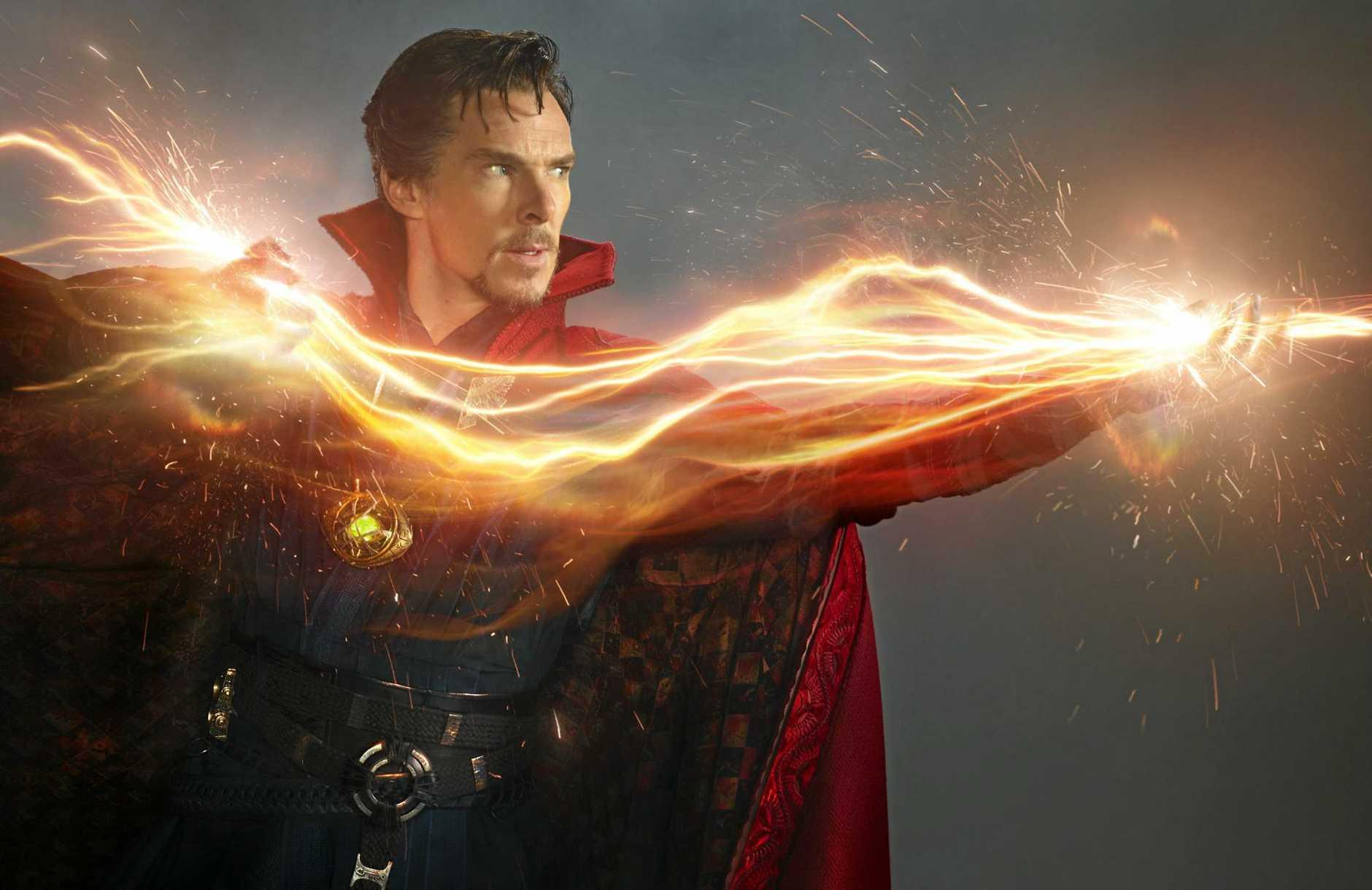 MAGIC MAN: British actor Benedict Cumberbatch stars in the movie Dr Strange.