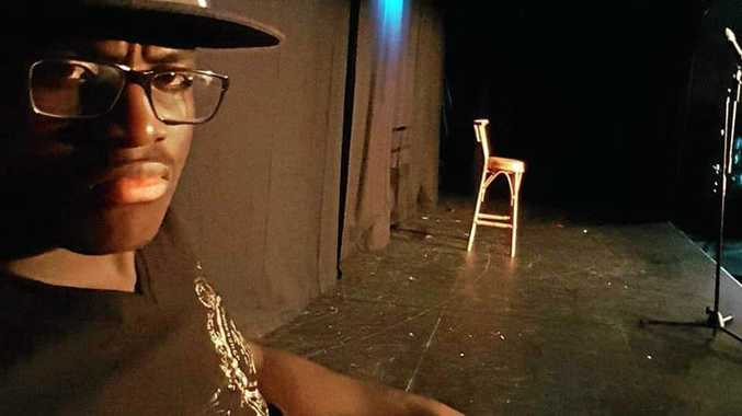 KILLER COMEDY: Rockhampton comedian Thabo Tshuma is part of Amateur Allsorts and is building his career in stand up comedy and other entertainment avenues.