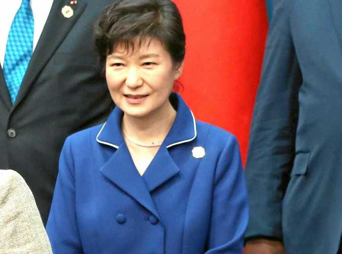 South Korean President Park Guen-hye (left) is under pressure over possible preferential treatment of a friend.