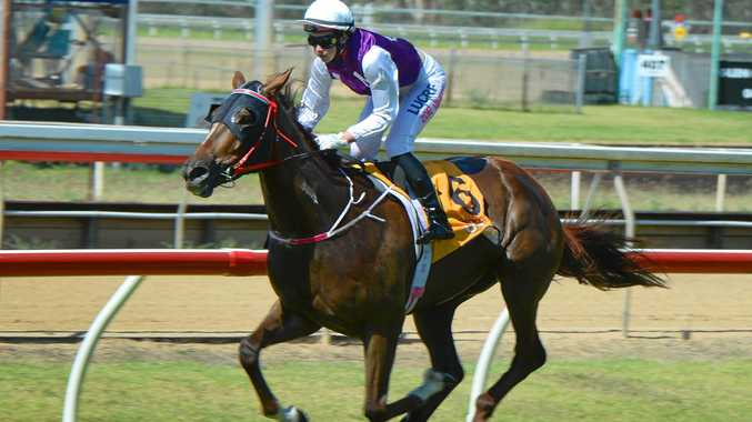WHITE RED-HOT: Zoe Smith pilots Dipped in Gold to victory in Race 1 at Callaghan Park on Tuesday in what was one of her four victories on the day.