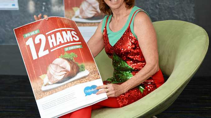 Christmas ham promoPhoto Allan Reinikka / The Morning Bulletin