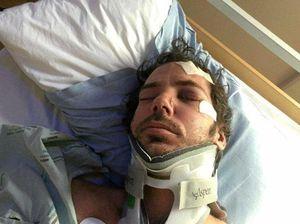 Coast man stranded overseas after horror crash