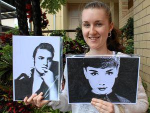 Celebrities dominate Catherine's artistic spotlight