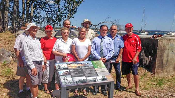 DROP BY: Official guests officially open a new path, an upgraded bush path and interpretive signage in Iluka.