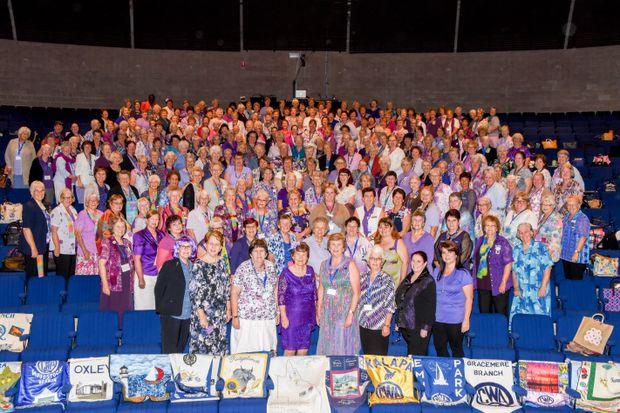 The Gladstone QCWA conference.