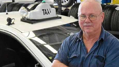 Mackay Whitsunday Taxi manager and licence holder Gerry Lucas who owns four taxi ficenses in Mackay has lost $480,000 in just over two years.