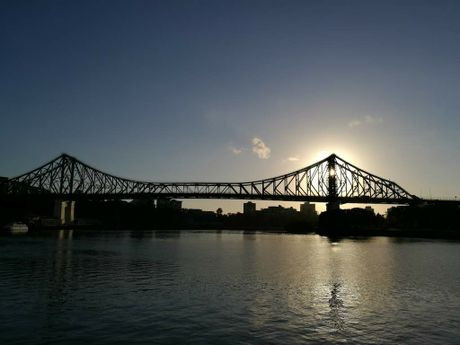 Brisbane's Story Bridge as shot with a P9.