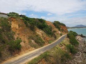drone footage, Statue Bay road