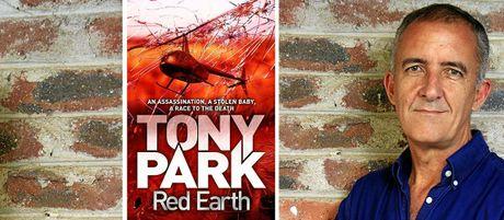 Author Tony Park.