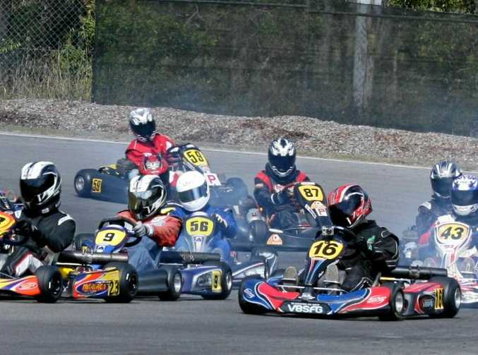 GO: It will be all systems go at the Cooloola Coast Kart Club on Sunday as the club celebrates a decade of racing.