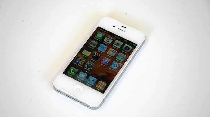 The iPhone 4, now one of the older models of the game-changing smartphone.