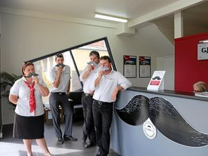 Grafton business makes Movember move