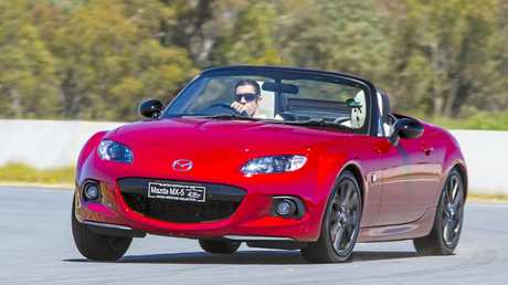 The Mazda MX-5 ND derivative powered by a 2.0-litre petrol engine.