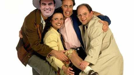 Whitsunday MP Jason Costigan has been likened to Kramer from Seinfeld.