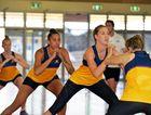 HARD WORK STARTS: Sunshine Coast Lightning training starts. Key players Cara Koenen and Erena Mikaere, centre.