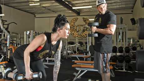 Nerida Petrides and Ryan Nawrotzky, owners of Olympus Training Facility.