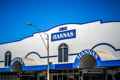 Hannas department store in Toowoomba was photographer by Eamon Donnelly as part of the Shop Small campaign.