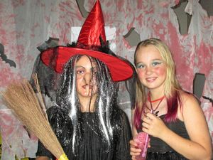 Goblins and ghouls come out to party at Widgee