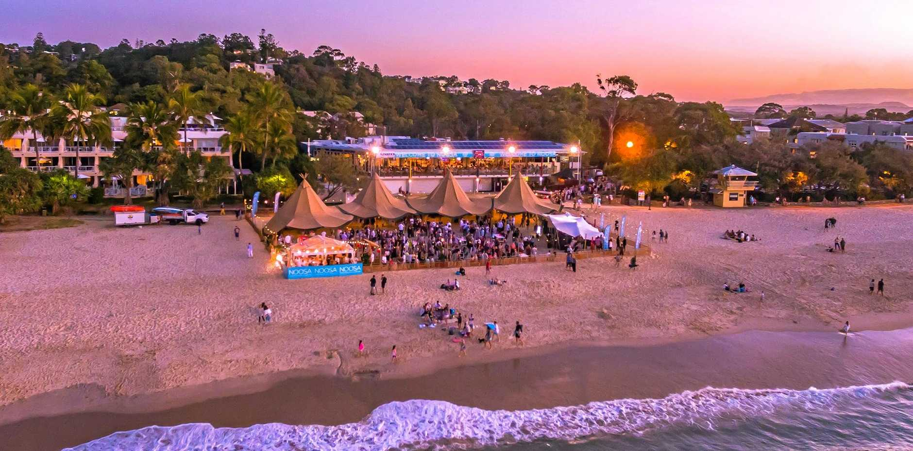 ICONIC: Noosa Main Beach is a popular treat.