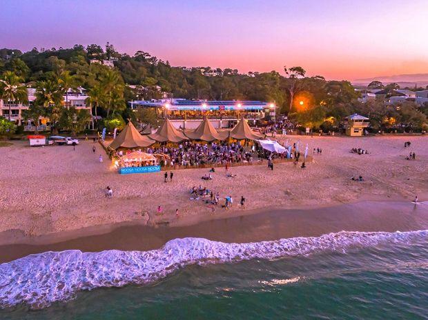 ICONIC: Noosa Main Beach is a popular treat.