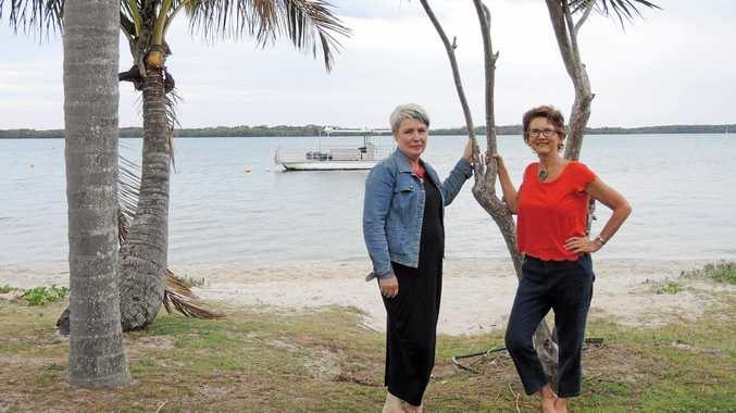 Authors Helen Ryan and Barbara Brewster chat about the upcoming Pop-Up Book Shop in Caloundra.