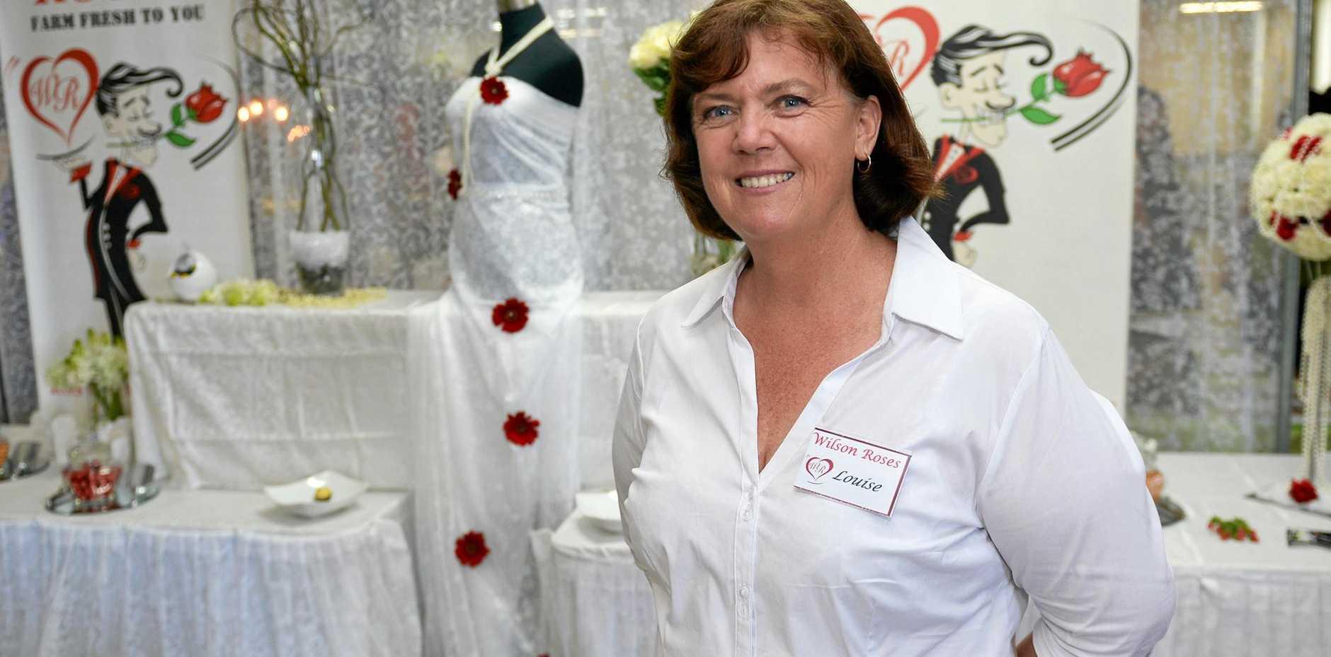 CQ Wedding Expo organiser Louise Wilson.   Photo: Chris Ison / The Morning Bulletin