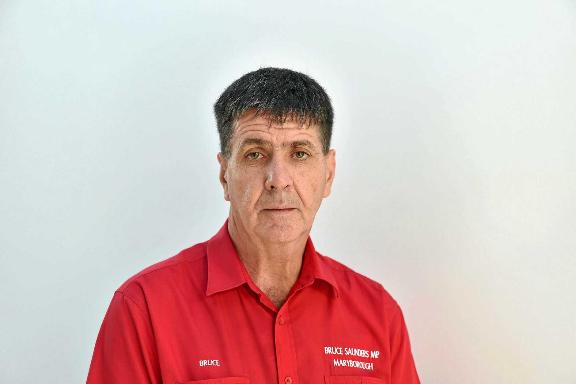 Bruce Saunders MP Maryborough. Photo: Valerie Horton / Fraser Coast Chronicle