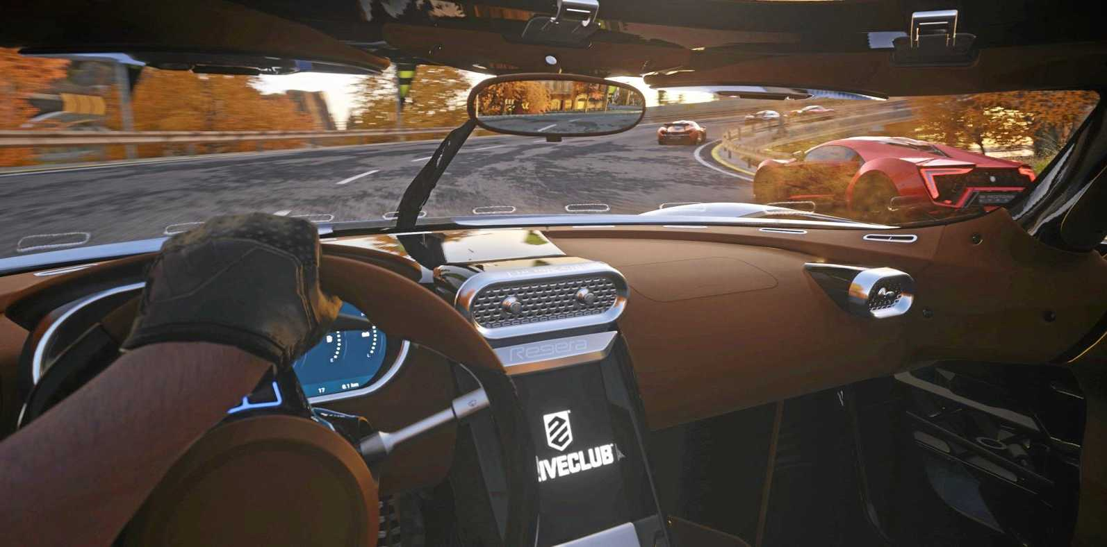 Driveclub VR is as close as you could get to the real thing.