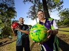 Ipswich and Western Suburbs Tenpin Bowling Association president Dean Margiolas (left) and Steve Solman are calling for the Ipswich Bowling Alley to be reopened.