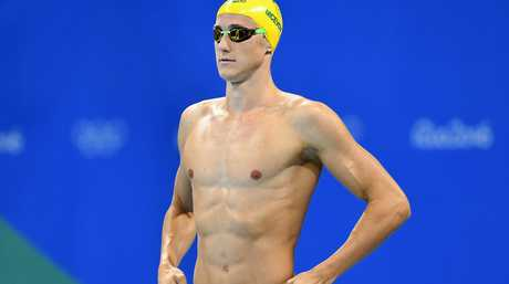 Cameron McEvoy won the 100m gold.