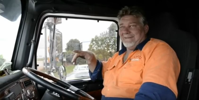 Dash cam footage from trucks.