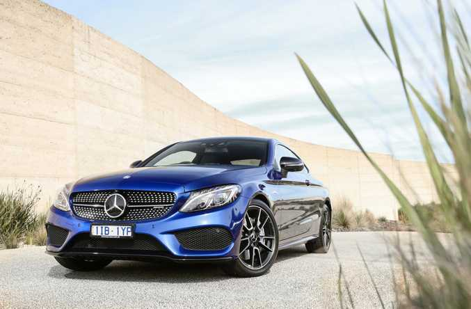 MORE AFFORDABLE: Mercedes-AMG C 43 Coupe offers 270kW and 520Nm for your $105,615, making it over $55k cheaper than its slightly quicker AMG C63 big brother.