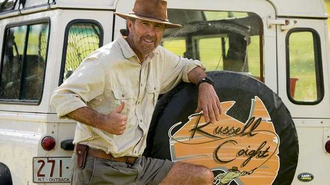 Channel 10 is renewing the iconic TV series Russell Coight's All Aussie Adventures.