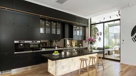 Julia and Sasha's perfect challenge apartment kitchen.