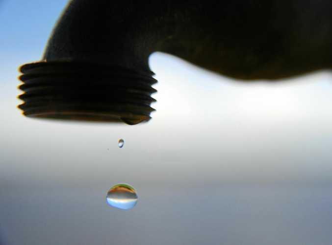 Water dripping from tap Photo: Brett Wortman / Sunshine Coast Daily