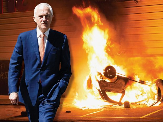 Malcolm Turnbull says there is 'nothing to see here' as the Senate starts to crumble.