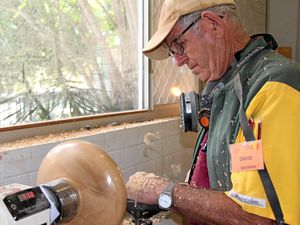 Buderim Men's Shed opens their doors for market day