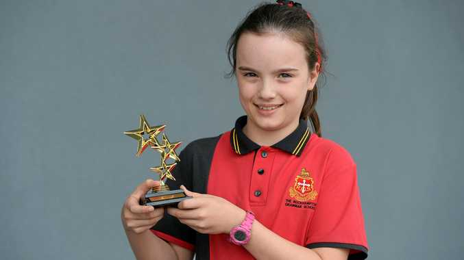 AUTHOR: Young writer award winner, Asha Stewart (9).