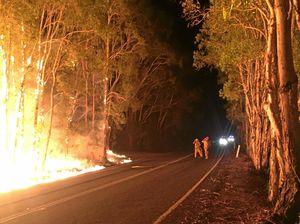 Soaring temperatures raise fears as arsonist targets Tweed
