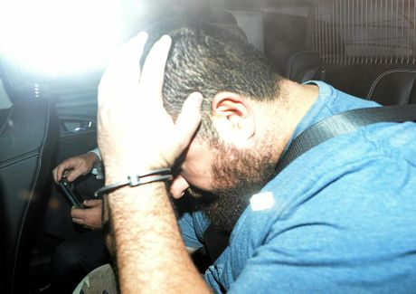'ENTREPRENEUR': Omar Succarieh after his arrest on September 10, 2014.