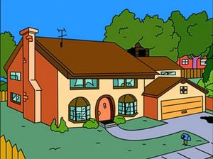 Hi-diddly-ho neighborino! 'Simpsons House' for rent