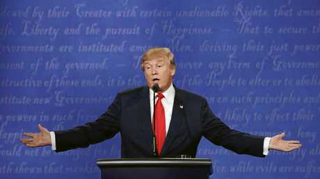 Trump #3: The double palms.