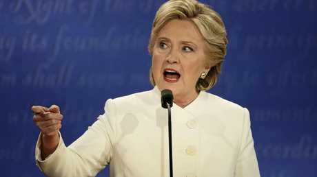 Clinton #1: Getting angry.