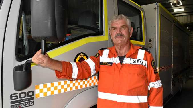 VETERAN: Ballina SES unit controller Gerry Burnage said you can never tell how much attending a crash scene will affect you personally.
