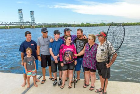 DROPPING LINES IN KIND: If you happen across a big group of fishers all smiling and having a good time on the Clarence River don't be surprised if Adam Murray (centre back) is not too far away. The avid angler of Maclean has successfully set up the Clarence Valley Mental Health Fishing group as a way to combat the growing mental health concerns in the Clarence Valley. It was a concept that Murray created as a form of self-help to combat his own struggles with mental health issues but has now spread it across the river's reaches with more than 300 members on their social media accounts.