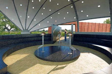 The design of the Moura Memorial.